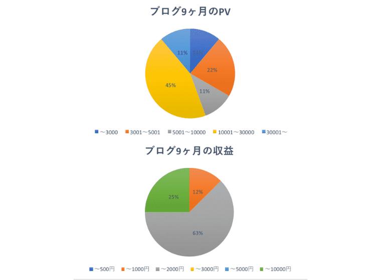 9ヶ月目の運営報告PV収益